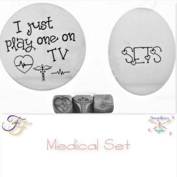 Medical Metal Design Stamp Set
