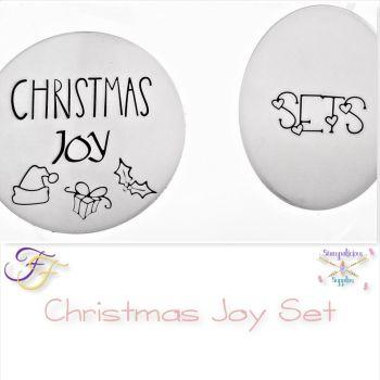 Christmas Joy Metal Design Stamp Set