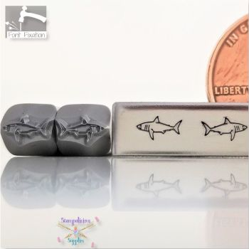 Shark Metal Design Stamp - #2