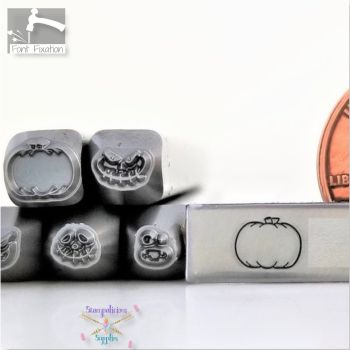 Pumpkin Metal Design Stamp - No Lines - Pumpkin 2