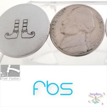 Elf Shoes Metal Design Stamp - Fat Bottom Shank