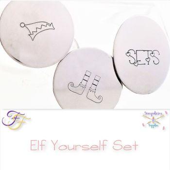 Elf Yourself Metal Design Stamp Set