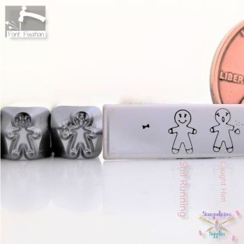 Gingerbread Man Metal Design Stamp - Which One?
