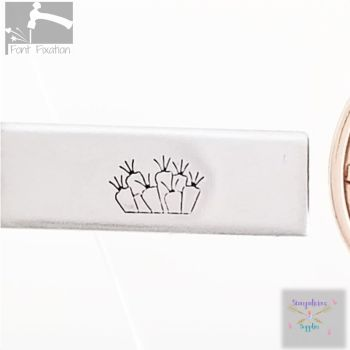 Truck Load CARROTS Metal Design Stamp