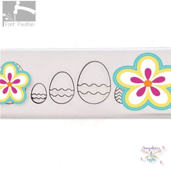 Easter Egg Metal Design Stamp #2