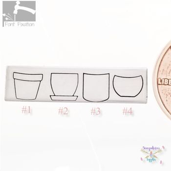 Flower Pot Metal Design Stamps - Which One?