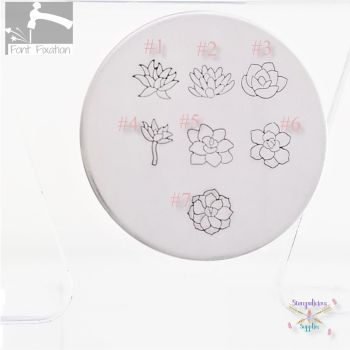 Succulent Metal Design Stamp - Which One?