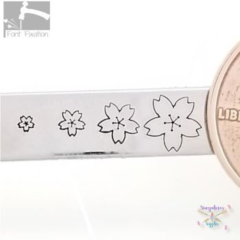 Cherry Blossom Metal Design Stamp