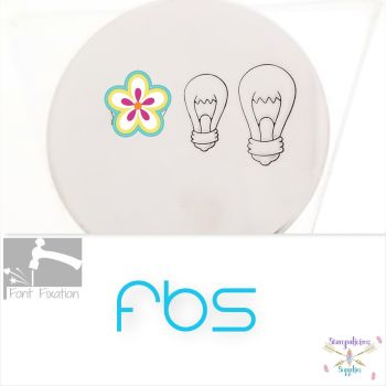Large Light Bulb Design Stamp - Fat Bottom Shank