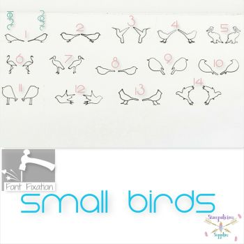 Birds Metal Design Stamp - Which One?