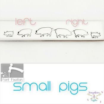 Pig Metal Design Stamp - Which One?