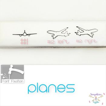 Plane Metal Design Stamp - Which One?