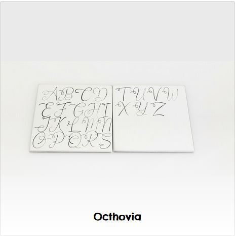 Octhovia - 7mm Monogram Font & Numbers