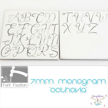 7mm Octhovia Monogram Metal Font - Which Set?