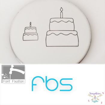 Full Cake Metal Design Stamps - Which One?  *** With Candle ***
