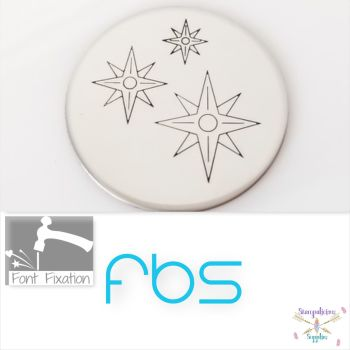 Compass Star Metal Design Stamps - Which One? *** NO LETTERS ***