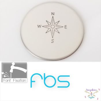FBS Compass Metal Design Stamp