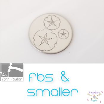 FBS Sand Dollar Metal Design Stamp - Which One?