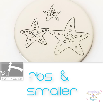 FBS Starfish Metal Design Stamp - Which One?