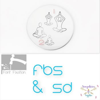 Yoga Meditation Metal Design Stamps - Which Style & Size?