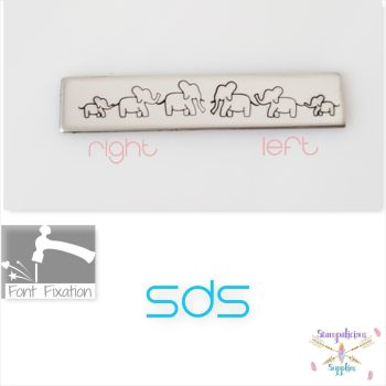 Elephant Metal Design Stamp - Which One?