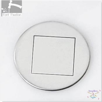 FBS Large Square Metal Design Stamps