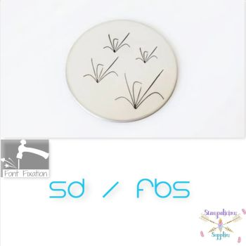 Grass Metal Design Stamps - Which Size?