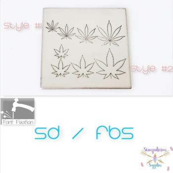 Weed Metal Design Stamps - Which Size?