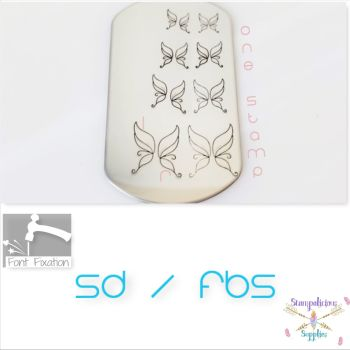 Fairy Wings Metal Design Stamps - Which One?