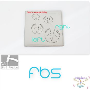 FBS Chubby Baby Feet Metal Design Stamp - Which One?