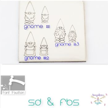 Gnome Metal Design Stamps - Which One?