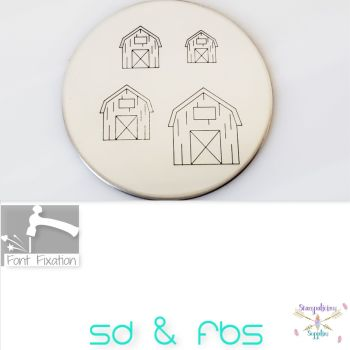Farm Barn Metal Design Stamps - Which One?