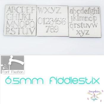 6.5mm Fiddlestix Metal Font - Which Set?