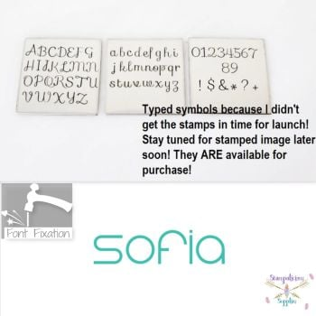 3.5mm Sofia Cursive Metal Font - Which Set?