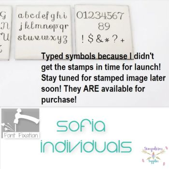 3.5mm Sofia Cursive Individuals - Which One?