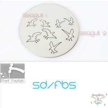 Seagull Outline Metal Design Stamps - Which One?