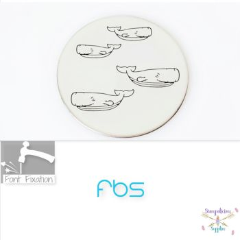 Sperm Whale Metal Design Stamps - Which One?