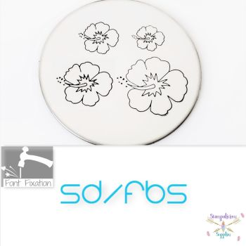 Hibiscus Flower Metal Design Stamps - Which One?