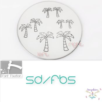 Single Palm Tree Metal Design Stamps - Which One?
