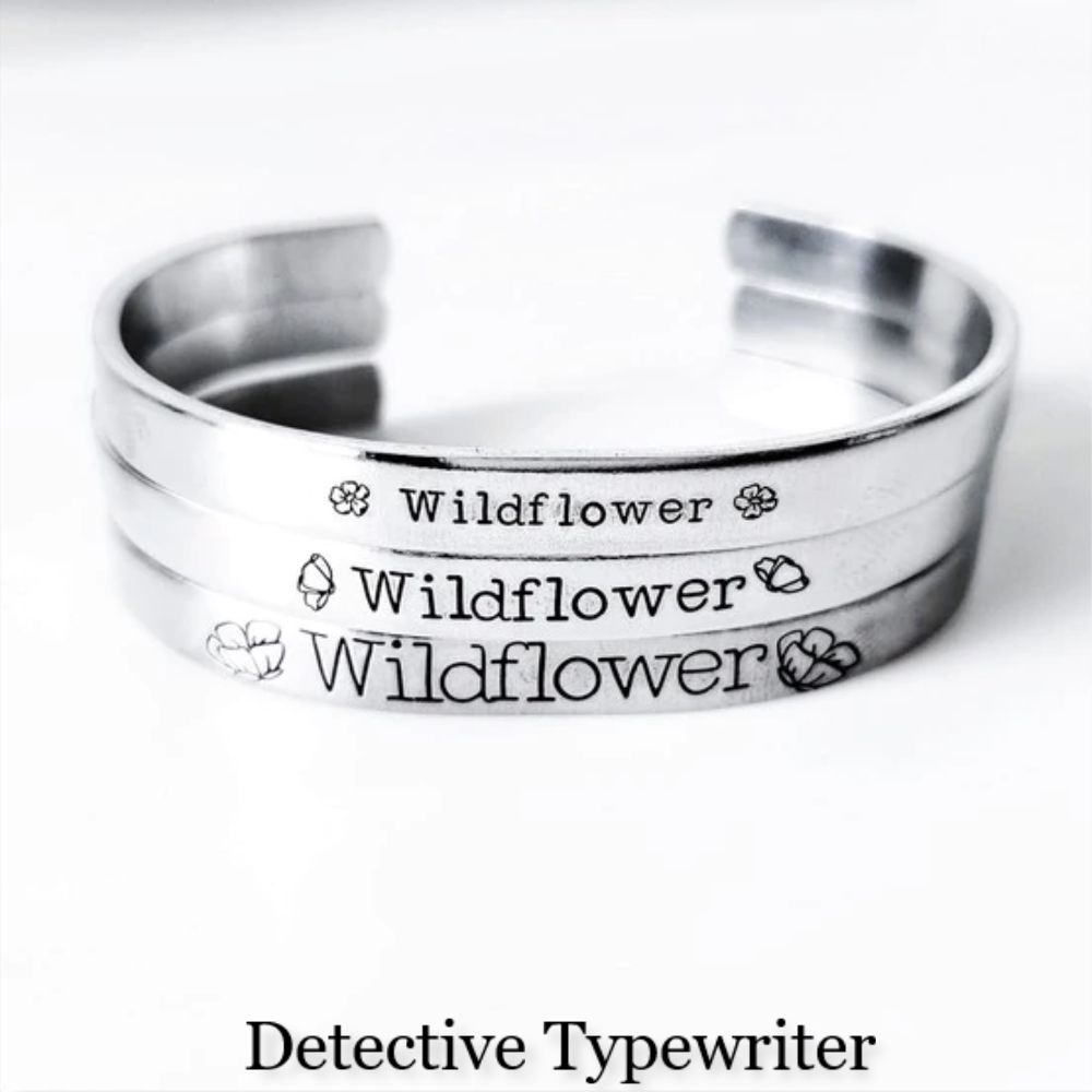 Detective Typewriter - Available In Different Size
