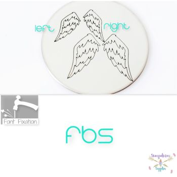 Fluffy Angel Wings Metal Design Stamps - Which One?