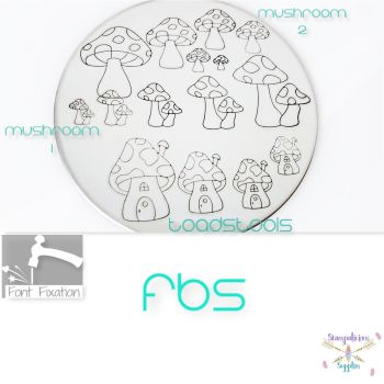 Mushroom / Toadstool Metal Design Stamps - Which One?