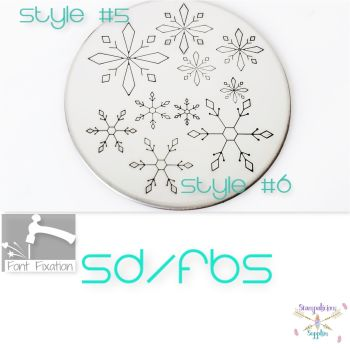 Snowflakes Metal Design Stamps - Which One?   ***** 2020 Style *****