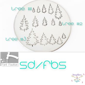 Fir Tree Metal Design Stamps - Which One?    ***** 2020 Style *****