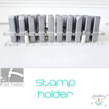 "1/2"" 50 States Style Acrylic Stamp Holder - Holds 12mm Design Stamps"