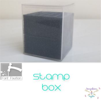 "Standard 1/4"" Shank Font Box - For Simple Dimples / Fonts"