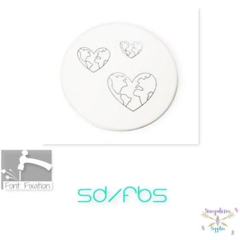 Heart Earth Metal Design Stamps - Which One?