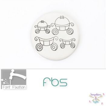 Wedding Carriage Metal Design Stamps - Which One?
