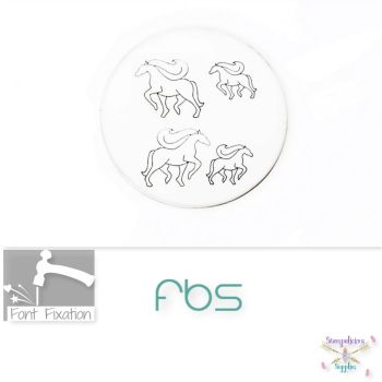 Wedding Carriage HORSE Metal Design Stamps - Which One?