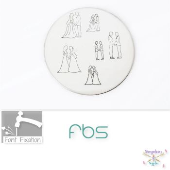 Wedding Couple Metal Design Stamps - Which One?